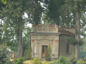 Zdjęcie przedstawiające kaplicę Denkerów w Gogołowie