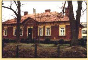 Zdjęcie przedstawiające starą aptekę we Frysztaku