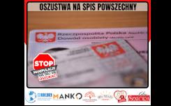 Więcej o: Oszustwa na spis powszechny Stop Manipulacji – nie daj się oszukać!