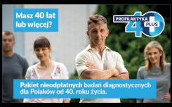 Więcej o: Profilaktyka 40 plus – pakiet nieodpłatnych badań diagnostycznych